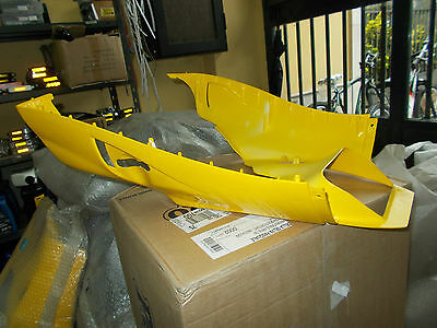 Spoiler Under Raised Malaguti F15 Yellow
