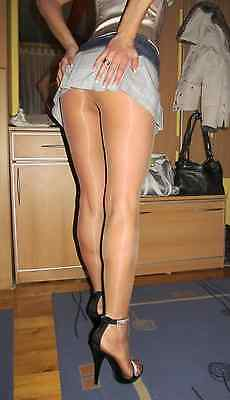 Calze collant usate colore avorio. Pantyhose used. misura unica Work Tights