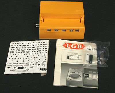 LGB 5080N 4 EPL Switch Control Box On / Off Switching G Scale - New in Box!