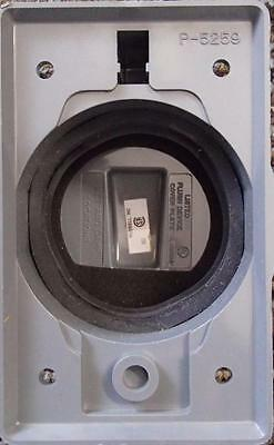 *Hubbell 7774WO Lift Cover Plate Gray 50A Twist Lock Receptacle Wet/Damp