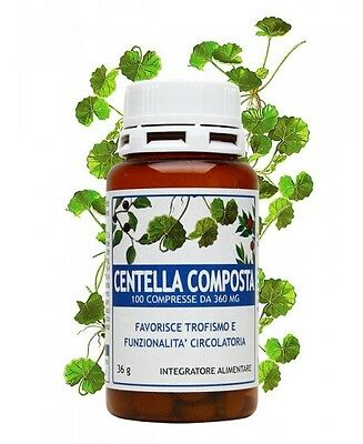 CENTELLA COMPOSTA 100 compresse da 360 mg - Salus in erbis -