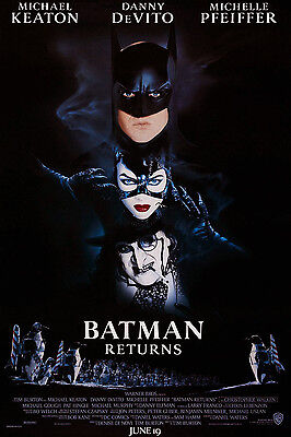 Batman Returns (1992) Original Movie Poster  -  Rolled