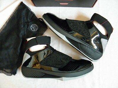 detailed look 652e6 a32dd Nike Air Jordan XX 20 Stealth Black edition 2005 size 11 OG Original DS NEW  NIB