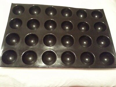 Sasa Demarle half sphere flexipan with 24 molds about 2 3/4in each
