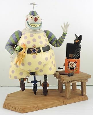 Nightmare Before Christmas Clown With A Tear Away Face.Wdcc Clown With The Tear Away Face Nightmare Before Christmas Box Coa