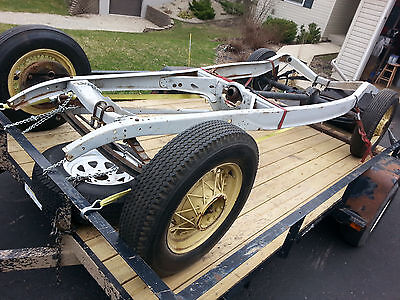 1932 FORD ORIGINAL Frame Rolling Chassis