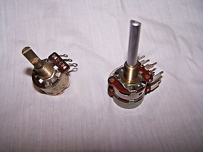 2 - Rheostats/Both Tested/Both Work! See Pictures & Description! FREE Shipping!