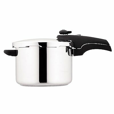 RACO 6L Pressure Cooker Silver Induction Stainless Steel NEW