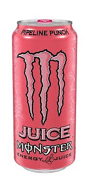 Juice Monster Energy Pipeline Punch 16 Ounce (Pack of 24) NO TAX