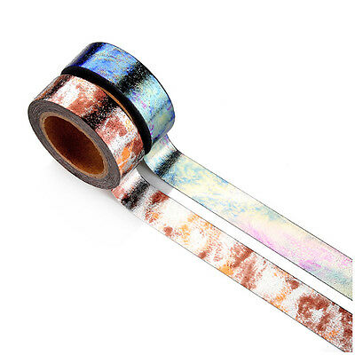 New Foil Washi Tape Japanese Stationery Kawaii Scrapbooking Tools Masking Tape