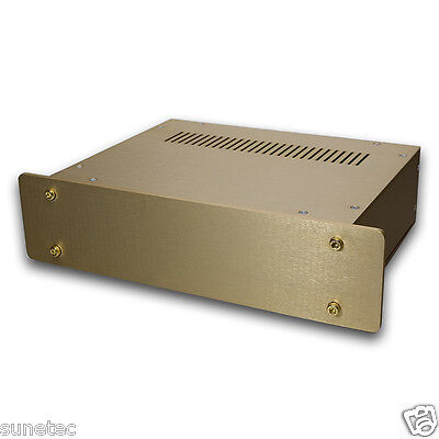 "SL1238A 12"" DIY FULL Aluminum Audio chassis Audio Amplifier Chassis Enclosure"