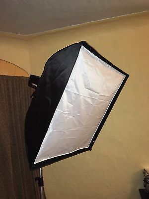 90cm x 90cm Softbox w/ Honeycomb Grid Diffuser for Norman Speedlight