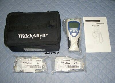 Welch Allyn SureTemp Plus 692; 01692 MC Oral And Rectal Thermometer Kit; New
