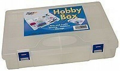 Tiger Hobby Storage utility Box Plastic Polypropylene 10 Compartments White