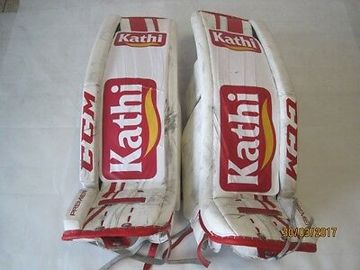 CCM Premier Per Custom Goalie rails used Per Return
