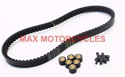 Honda Sh125 2008 2009 2010 2011 2012 Drive Belt & Roller Slider Kit