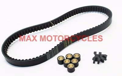 HONDA PS125 PS125i 2009 2010 2012 2013 DRIVE BELT & ROLLER SLIDER SERVICE KIT