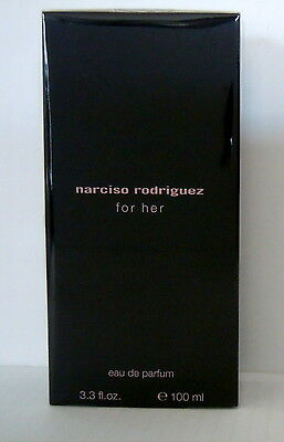 Narciso Rodriguez For Her 100ml Eau de Parfum  100ml Spray NEU Folie