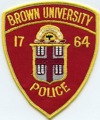 BROWN UNIVERSITY Providence RHODE ISLAND RI POLICE PATCH