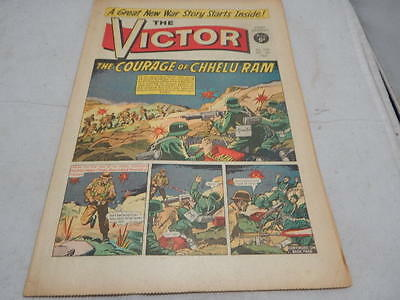 THE VICTOR COMIC No 250 ~ Dec 4th 1965 ~ The Courage Of Chhelu Ram