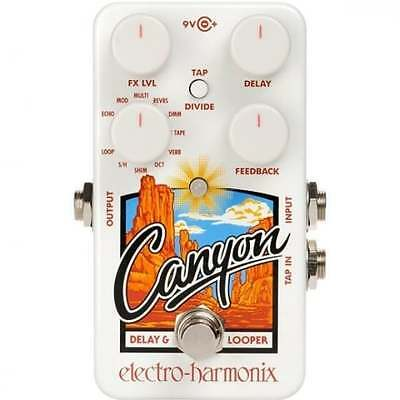 Electro Harmonix Canyon Delay & Looper Effects Pedal for Guitar