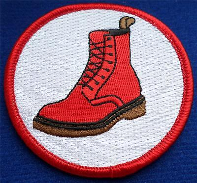 Skinhead Ska Reggae Patch - Skinhead Dm Boot Patch
