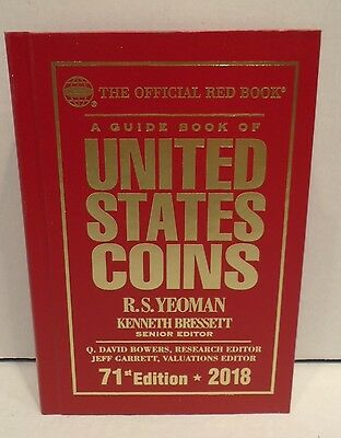 2018 Red Book Guide Book Of United States Coins Hardcover R.S. Yeoman