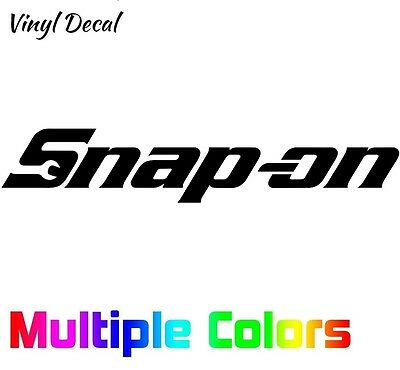 Snap On Sticker | Tools Toolbox Logo Vinyl Die Cut Decal MANY OPTIONS