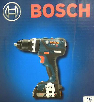 (80468) Bosch HDS183-02 18V Cordless 1/2in Hammer Drill/Driver (New in Box)