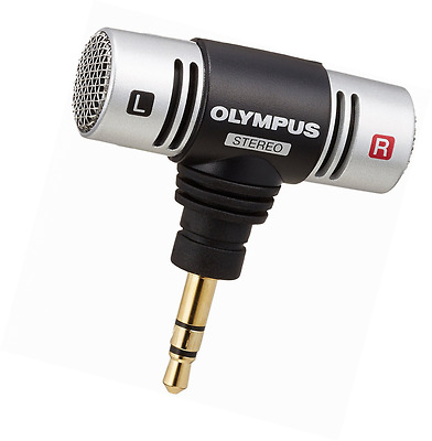 Olympus ME-51S Stereo Microphone - 3.5mm Jack - T-Type