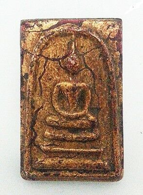 Asian Real Old Antique Phra Somdej Lp Toh, Wat Rakang Buddha Thai Amulet
