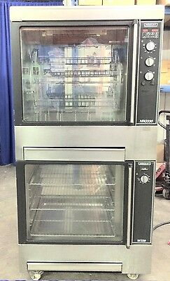 Hobart Model HRW330 Rotisserie Oven with Warming Cabinet 240 VAC 3-phase