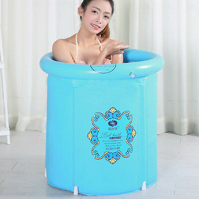New Adult Foldable Bathtub Household Portable Bath Tub Infant Swim Safe Barrel