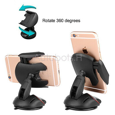 Universal silicone chuck GPS Bracket Cell Phone Mobile GPS Car 360° Mount Holder