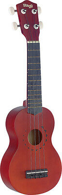 "STAGG US10  TATTOO Ukulele soprano traditionnel avec motif ""tattoo"""