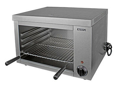Stainless Steel Electric Cheesemelter 32″ 240V