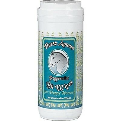 Horse Armour Bit Wipes - Peppermint - #2581