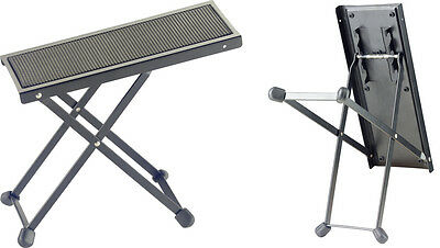 Metal foot rest for guitar players