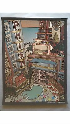 Phish Poster Miami FL New Years Run American Airlines 12/31/14 Print Land Land