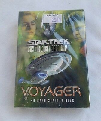 Star Trek CCG Voyager Starter Deck NEW