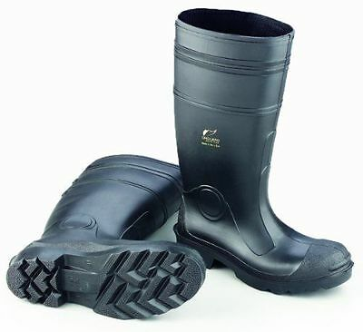 "Onguard Industries Buffalo 87801 Black 16"" Economy PVC Work Boots W/ Steel Toe"