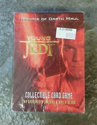 Star Wars Young Jedi Menace of Darth Maul CCG, Starter Decks