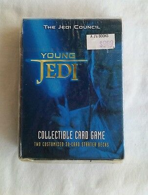 Star Wars Young Jedi ccg The Jedi Council 2 Starter  Decks (one package)