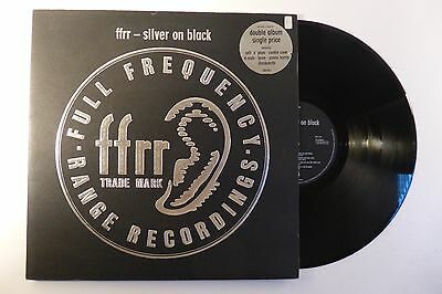 FFRR Compilation - Silver on Black  (828 155-1  1989)  Double Vinyl LP Record