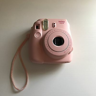 Pink Polaroid Instax Camera Instax8 With Instant Film