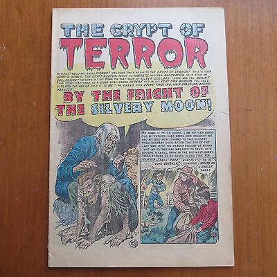 Tales from the Crypt #35 (Atlas) PR Vintage Golden Age 1952 - Coverless