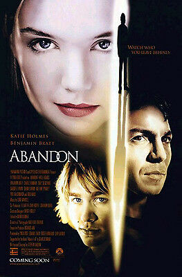 Abandon (2002) Original Movie Poster  -  Rolled  -  Double-Sided