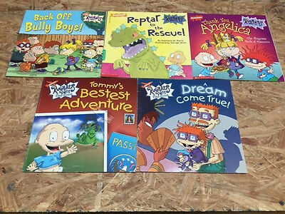 Lot Of 5 Rugrats Children's Books #2494 FREE SHIPPING