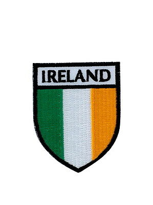patch ecusson brode thermocollant drapeau blason irlande backpack veste doudoune