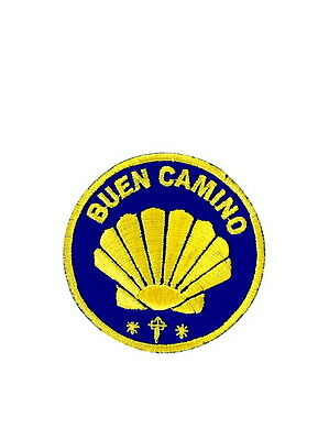 patch ecusson thermocollant buen camino saint jacques de Compostelle pelerinage
